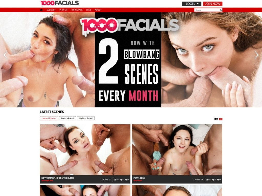 1000 Facials Home Page
